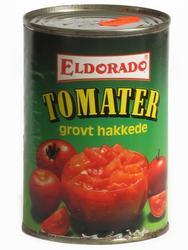 Hermetikkboks Eldorado grovt hakkede tomater