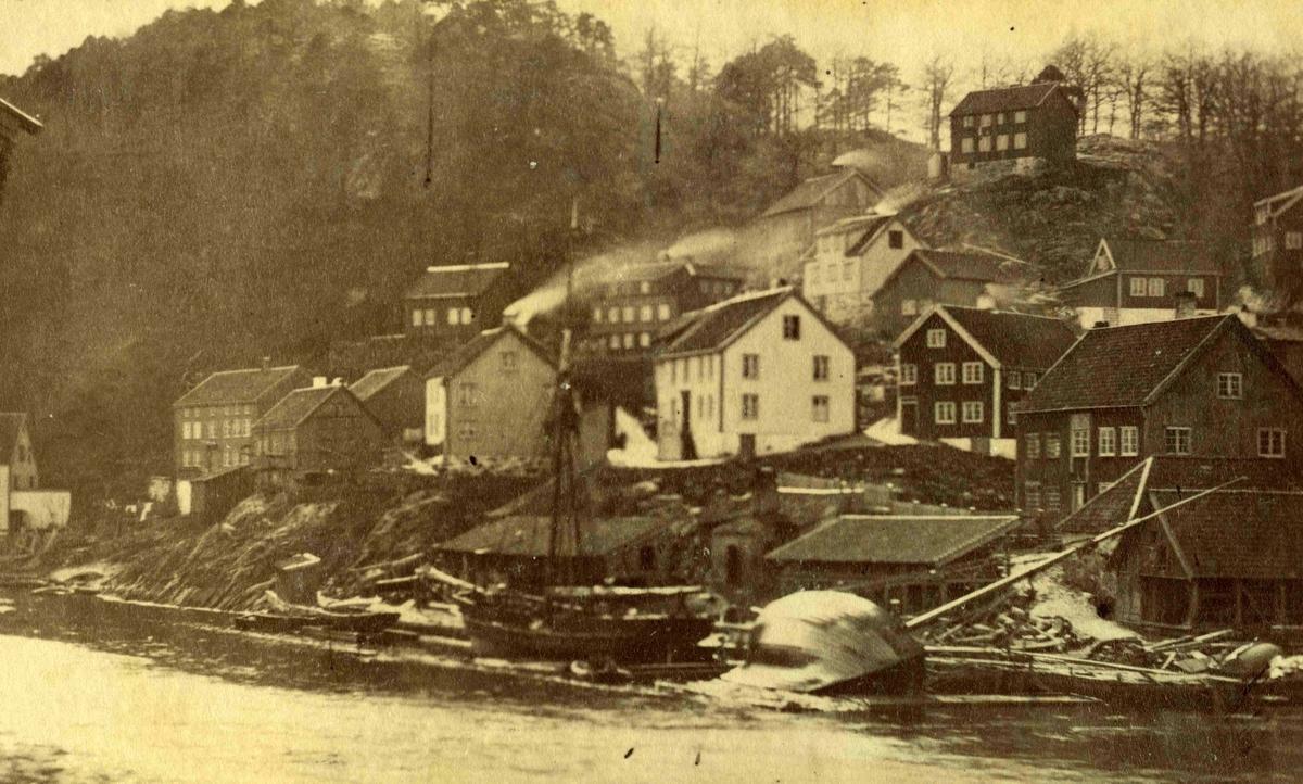 Arendal og omegn - Fra John Ditlef Fürst fotoalbum - Kittelsbukt  - AAks 44 - 4 - 7 - Bilde nummer 48