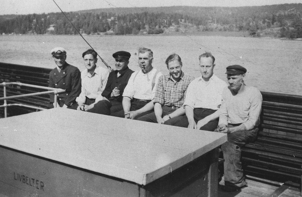 """Mannskapet på D/s """" Bundefjord """""""