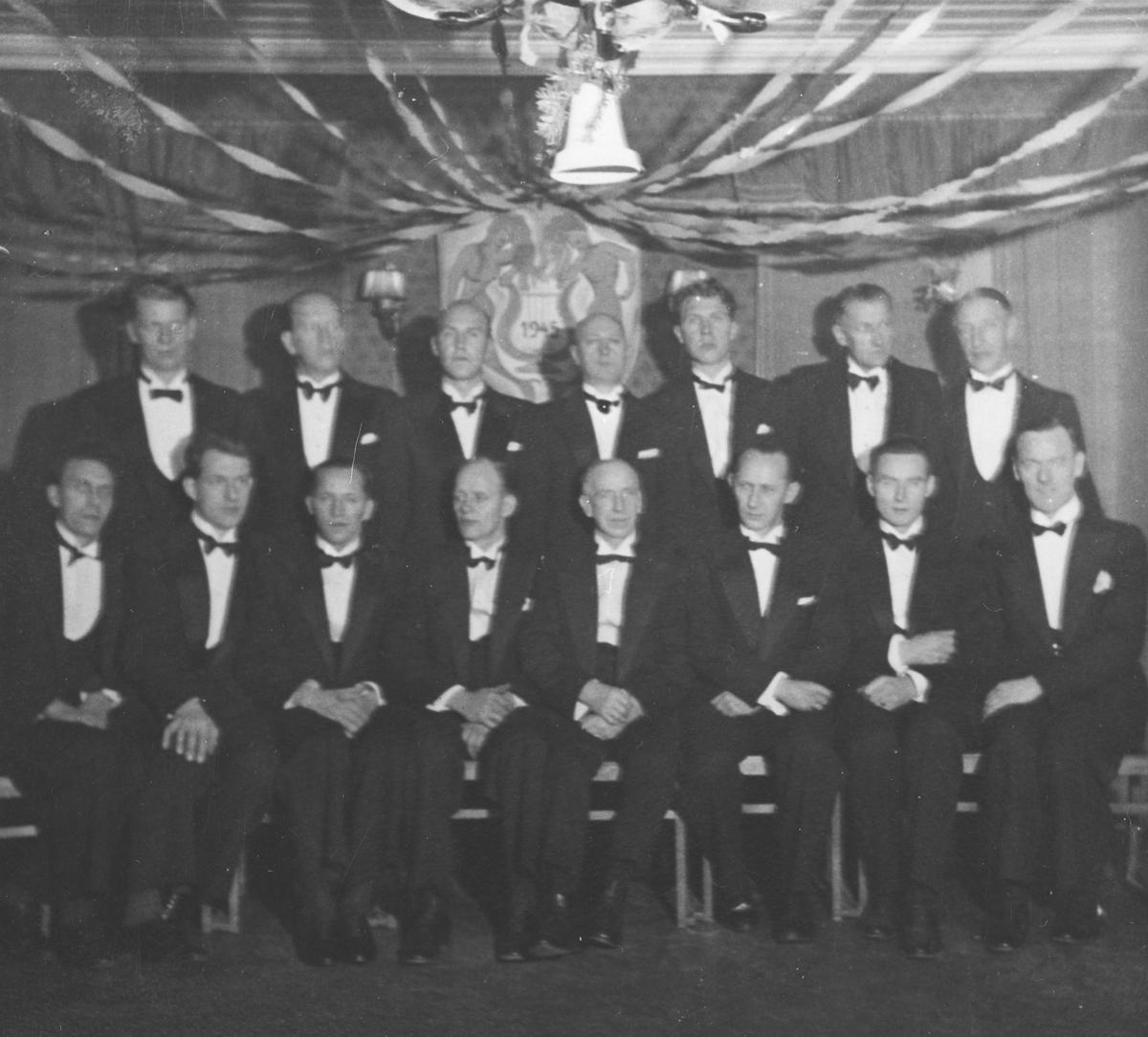 Mannskoret Bratlandskvartetten.