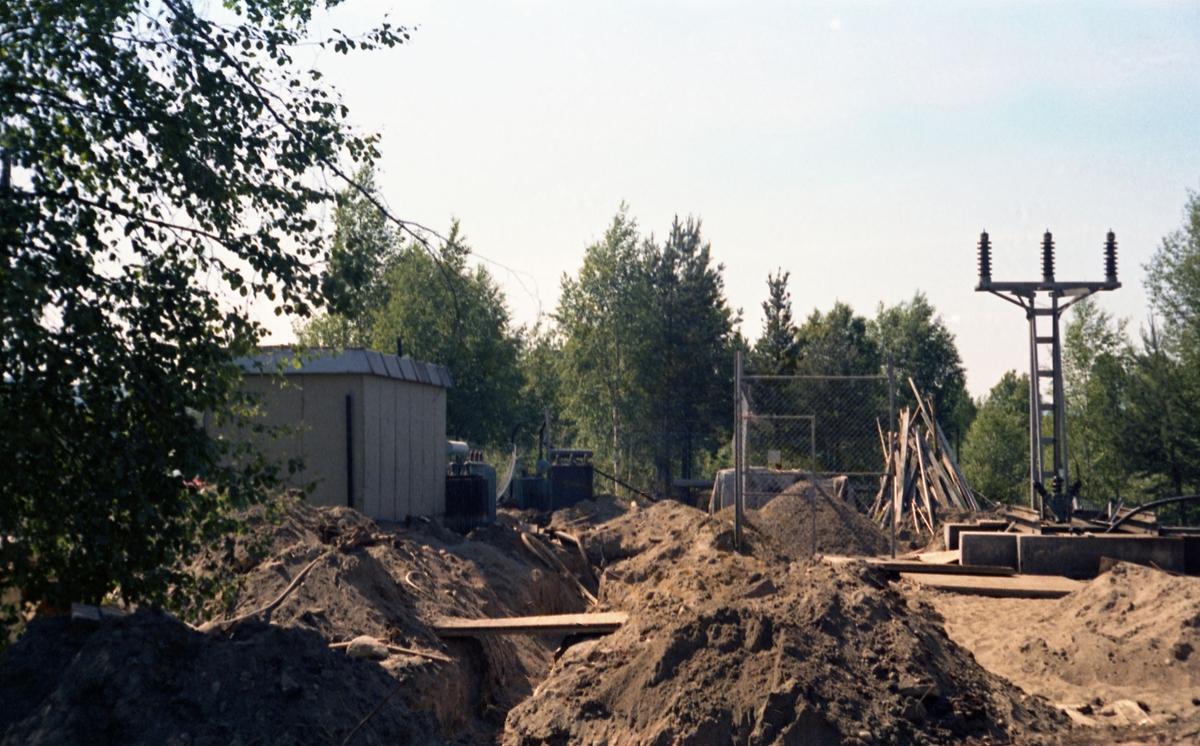 Bygging av Vestbygata Trafostasjon.