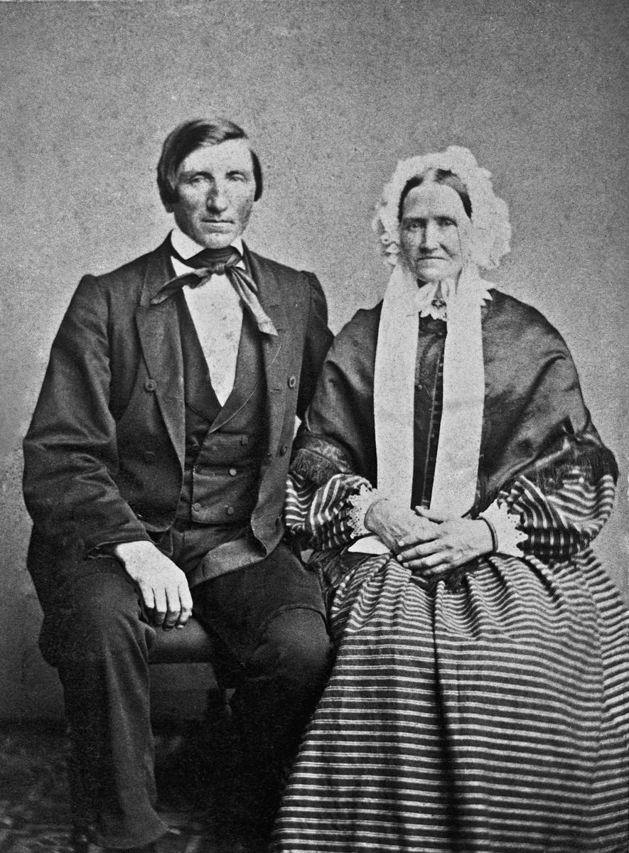 Eldre kvinne og mann