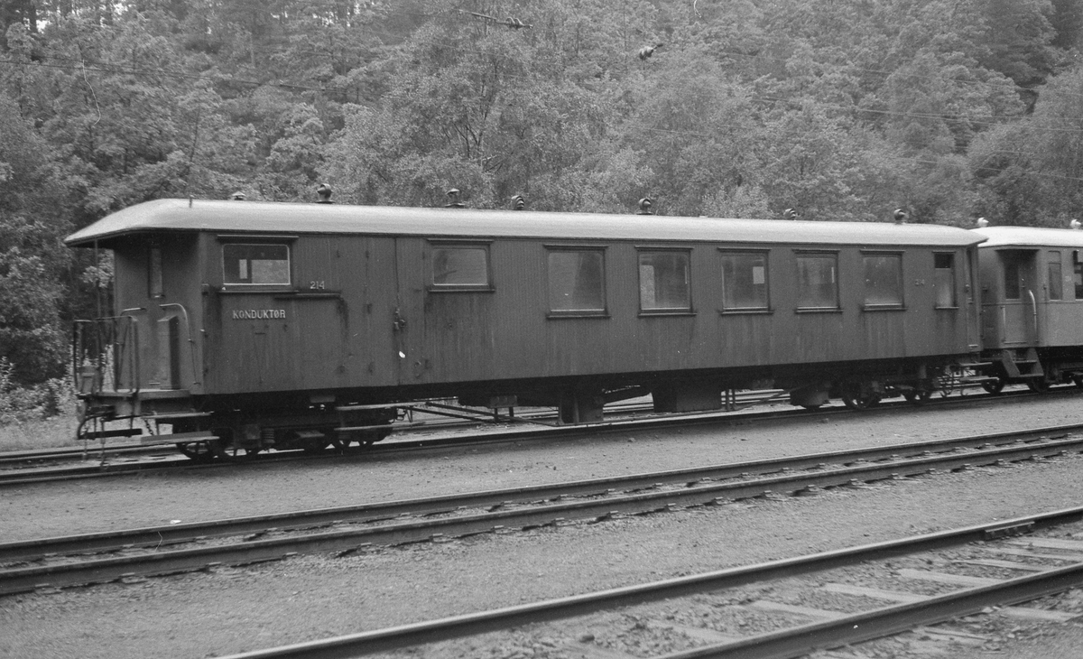 Setesdalsbanens person- og konduktørvogn nr 214