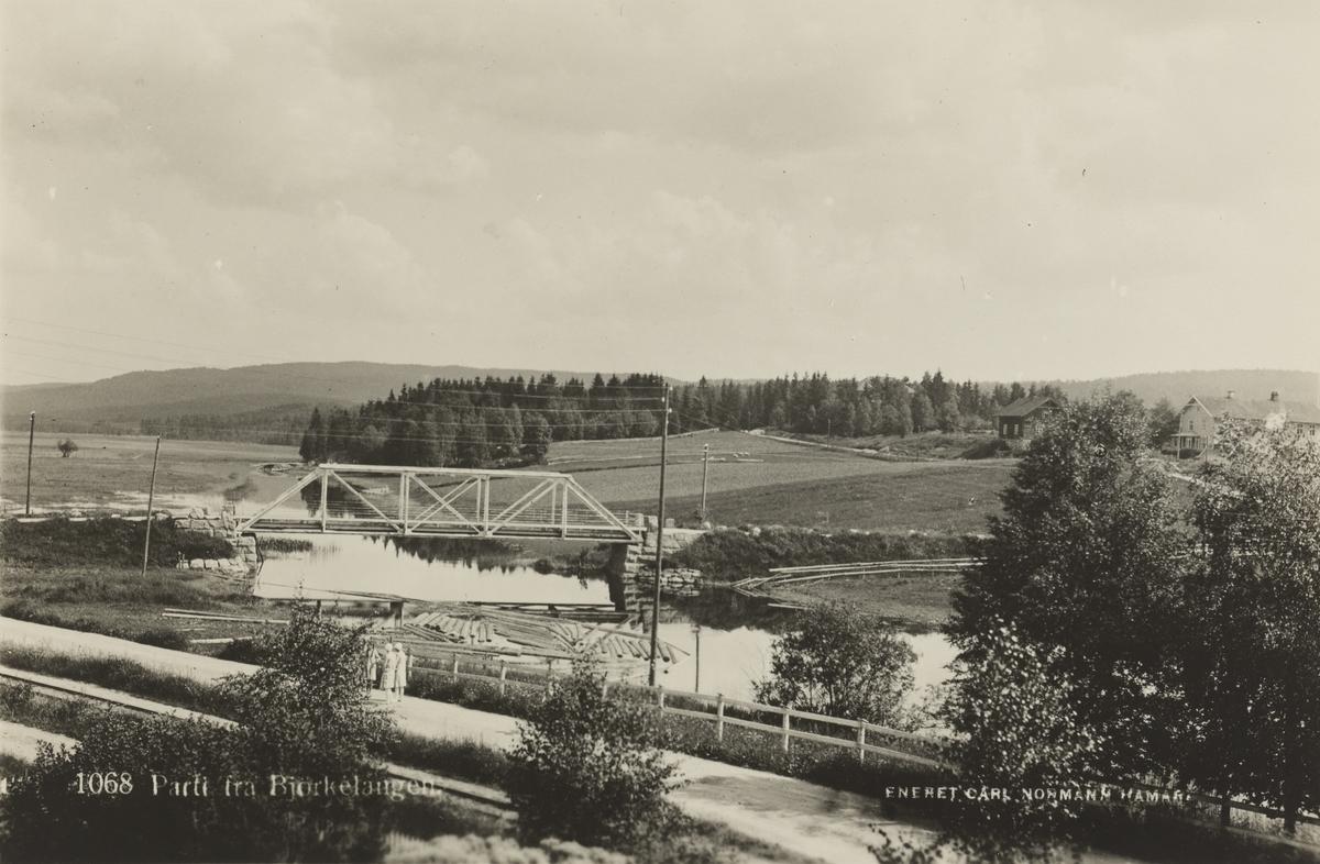 Kjelle bro ved Bjørkelangen stasjon.