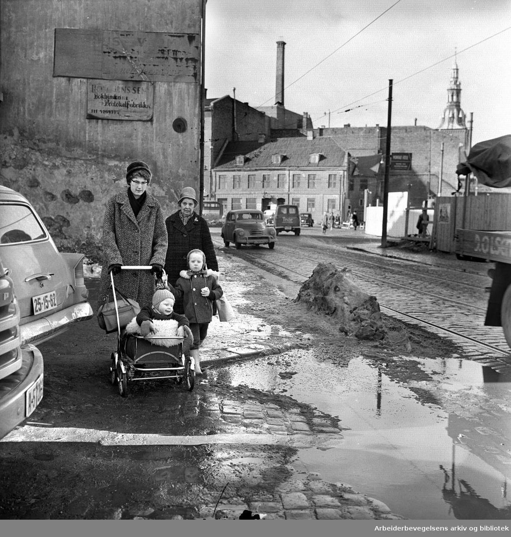 Vognmannsgata, .mars 1963