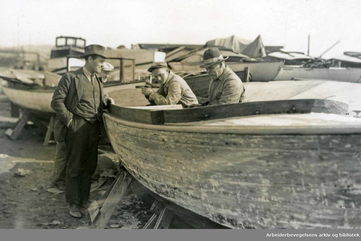 Båtpuss, .1930-35