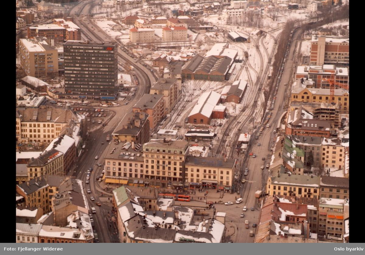 Opprinnelig Luftfoto, Majorstuen - Oslo byarkiv / DigitaltMuseum LB-79