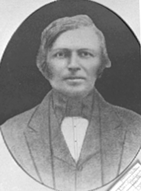 PORTRETT: KRISTIAN SKATTUM 1810 - 1867, SKATTUM.