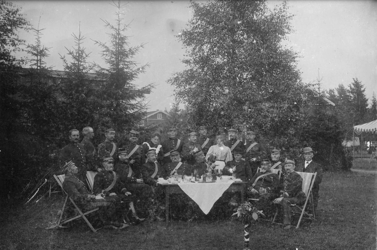 Ved 1. Feltartillerikorps`s officersmesse
