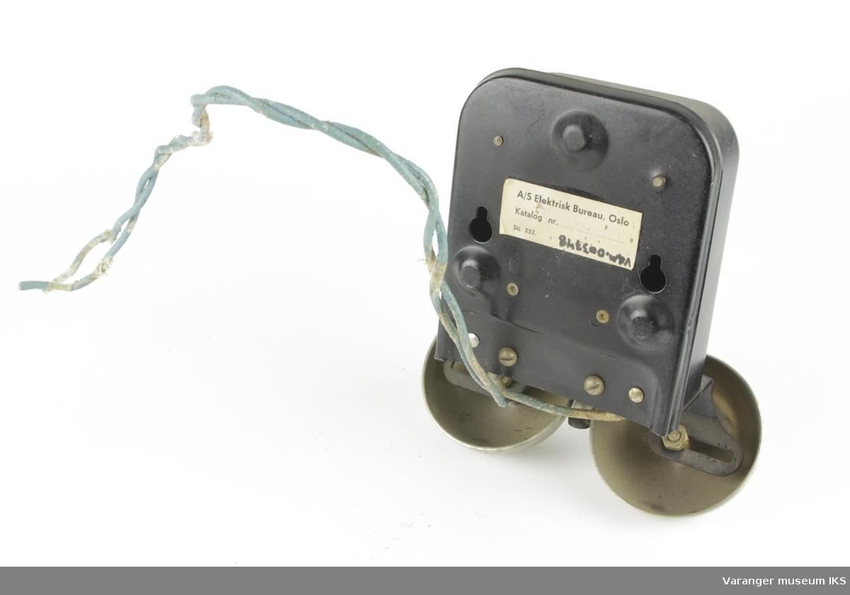 Ringeklokke for telefon. For veggmontering.