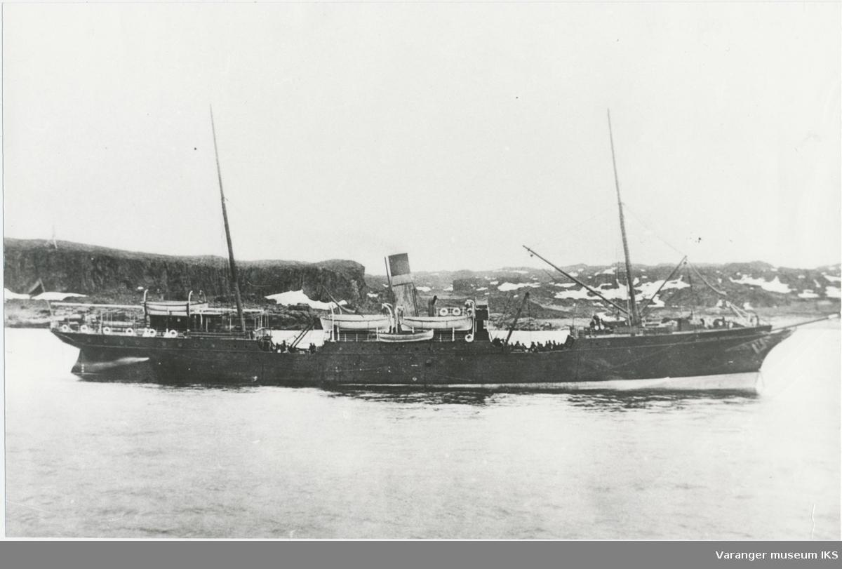 "Laste-passarsjerskipet ""Imperator Nikolai"" før 1919"