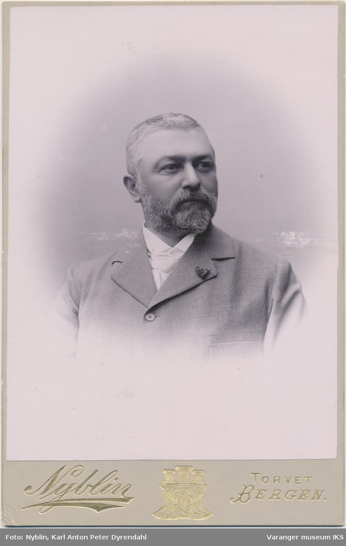 Portrett, antatt Wilhelm A. Mohn, 1896