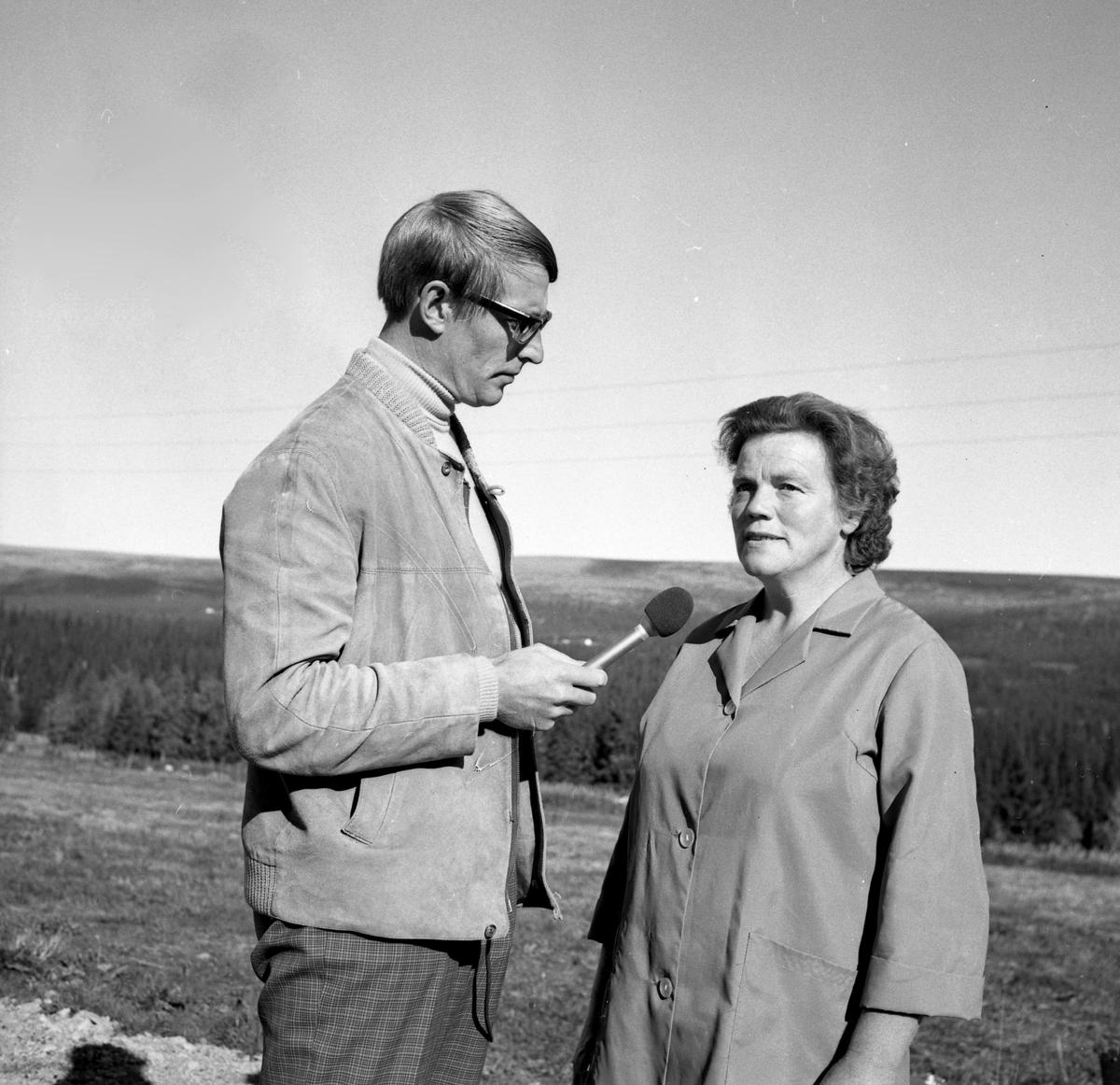 Ingeborg Hollsetra og Sven Nyhus