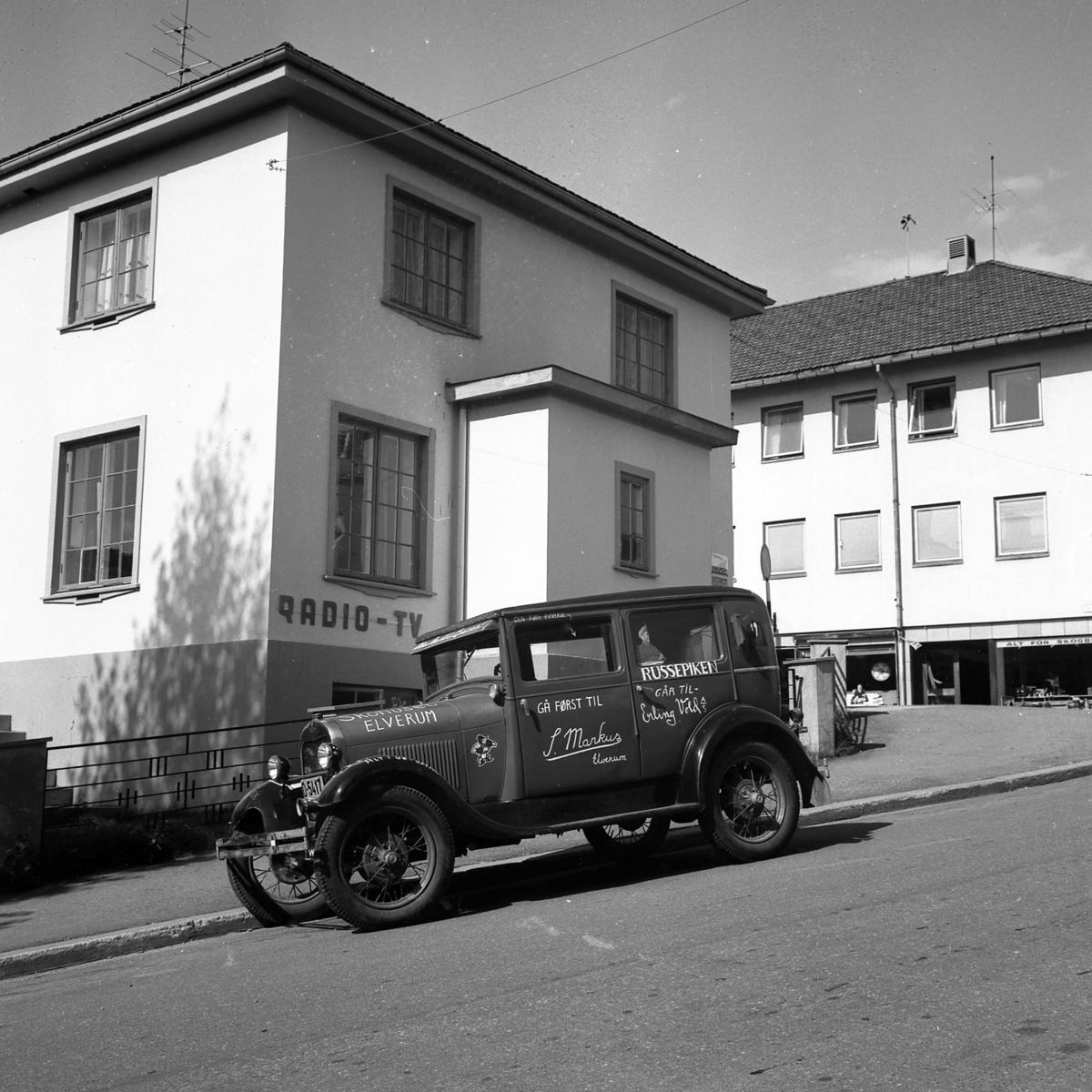 Bil,Ford modell A årsmodell 1928-29.