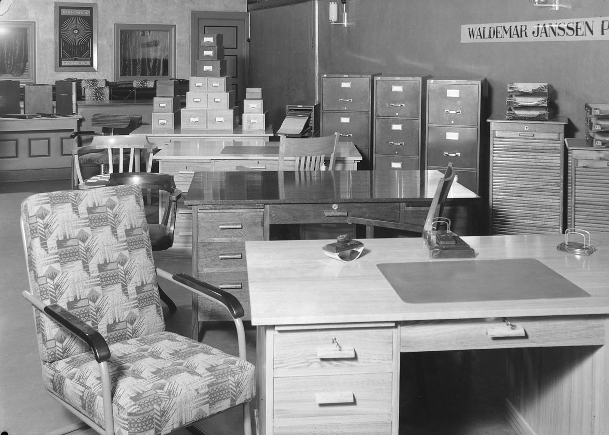 Kontormøbler og kontorinventar fra Waldemar Janssen