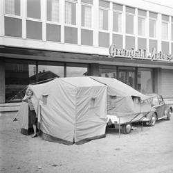 Campingtilhenger m/telt