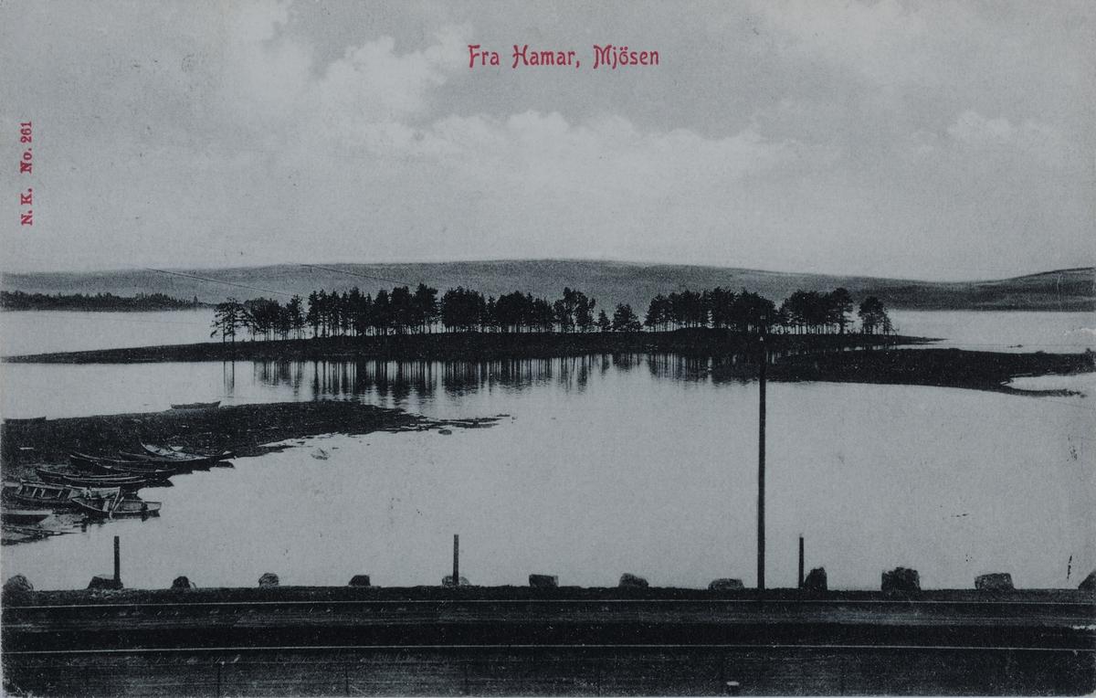 Fra Hamar, Mjøsen, Mjøsa, Hamar.