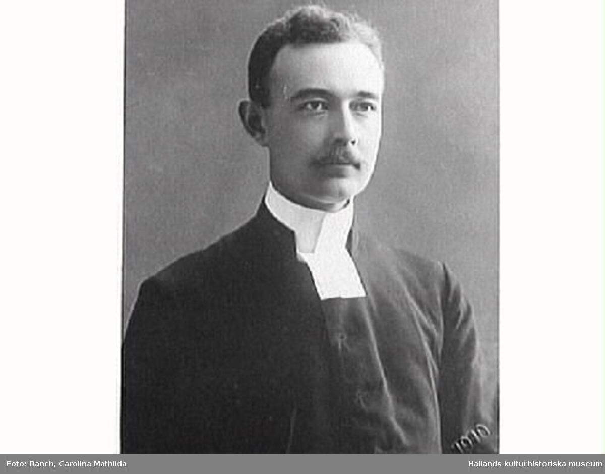 Porträtt av prästen Harald Akselsson.