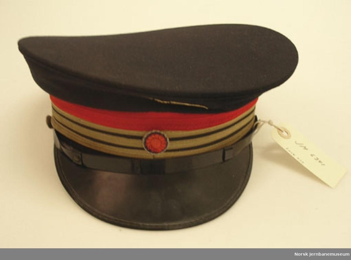 Uniformslue for stasjonsmester