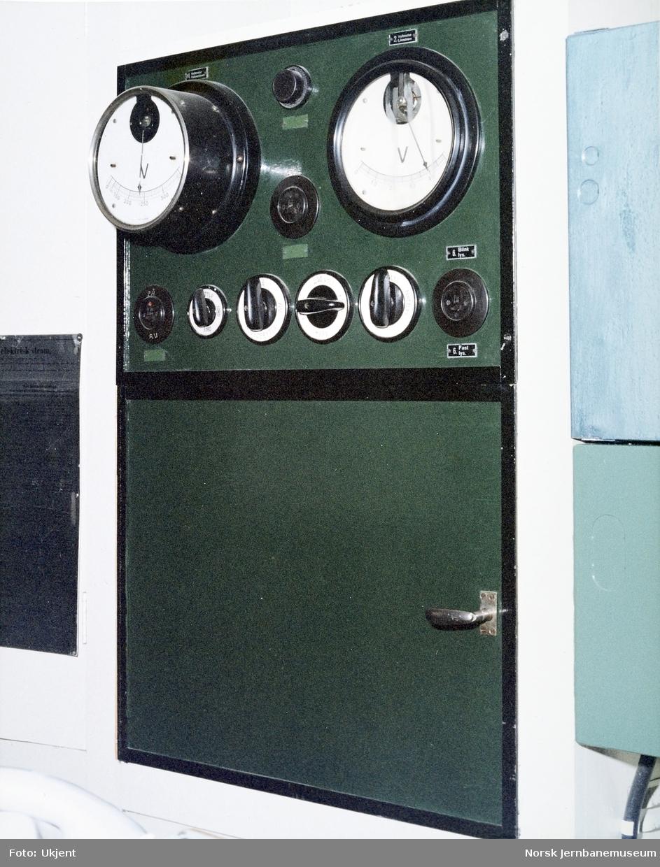 AEG-stillverket på Dombås stasjon - strømforsyning
