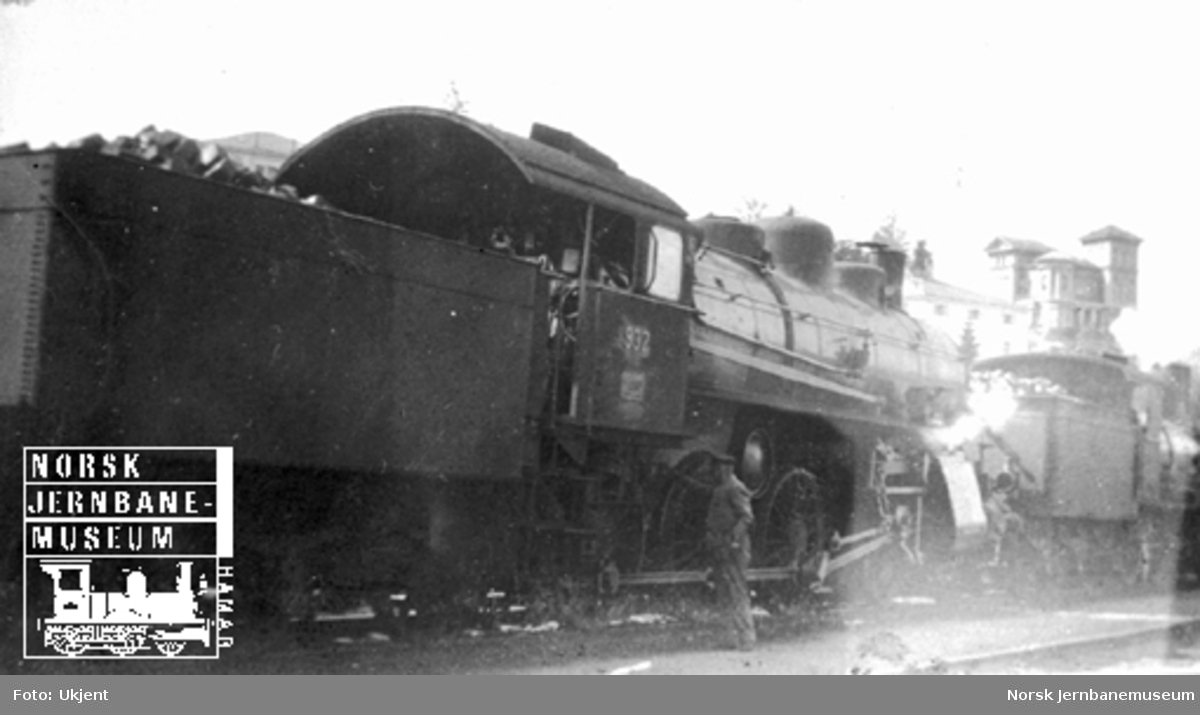 Sveitsisk damplokomotiv type A3/5 nr. 932