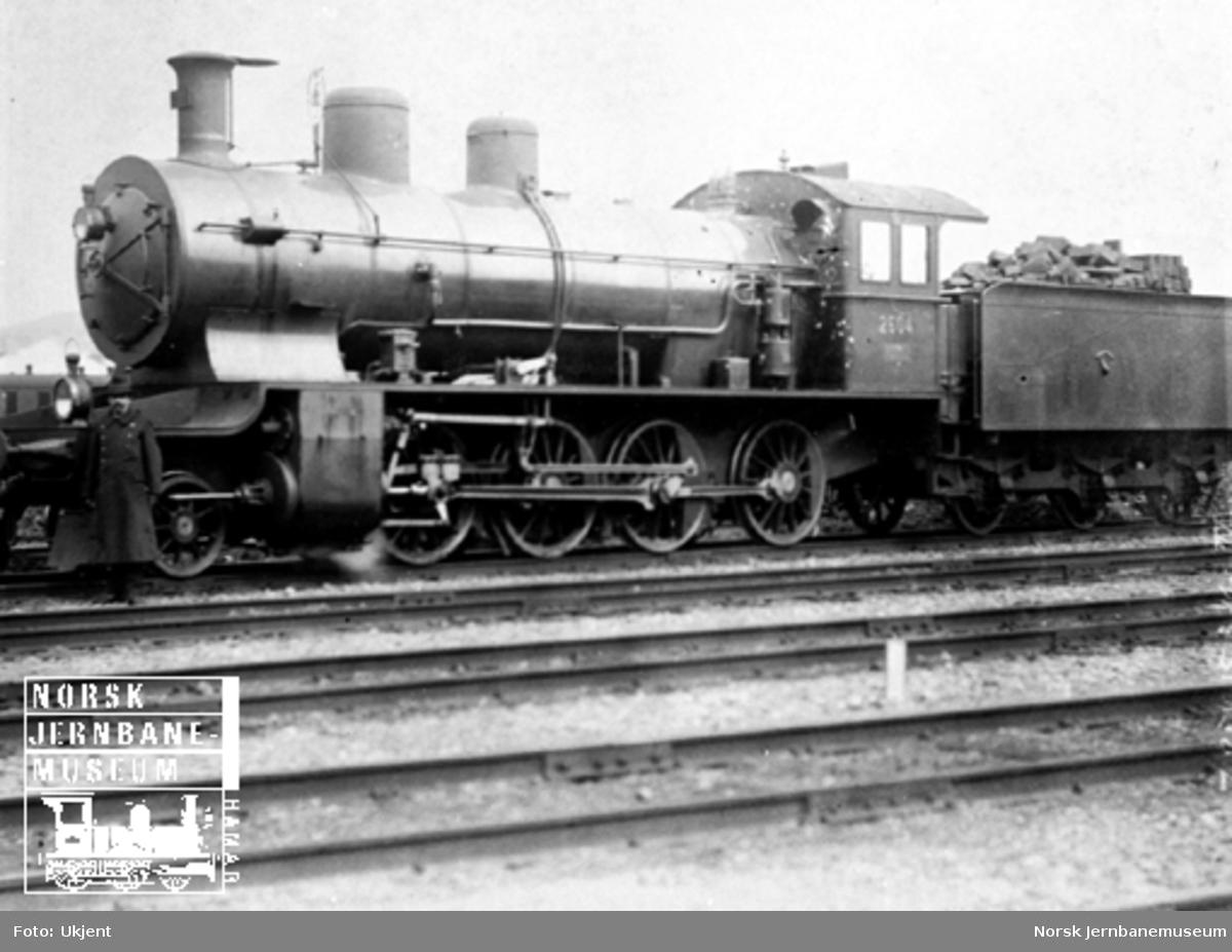 Sveitsisk damplokomotiv type C4/5 nr. 2604