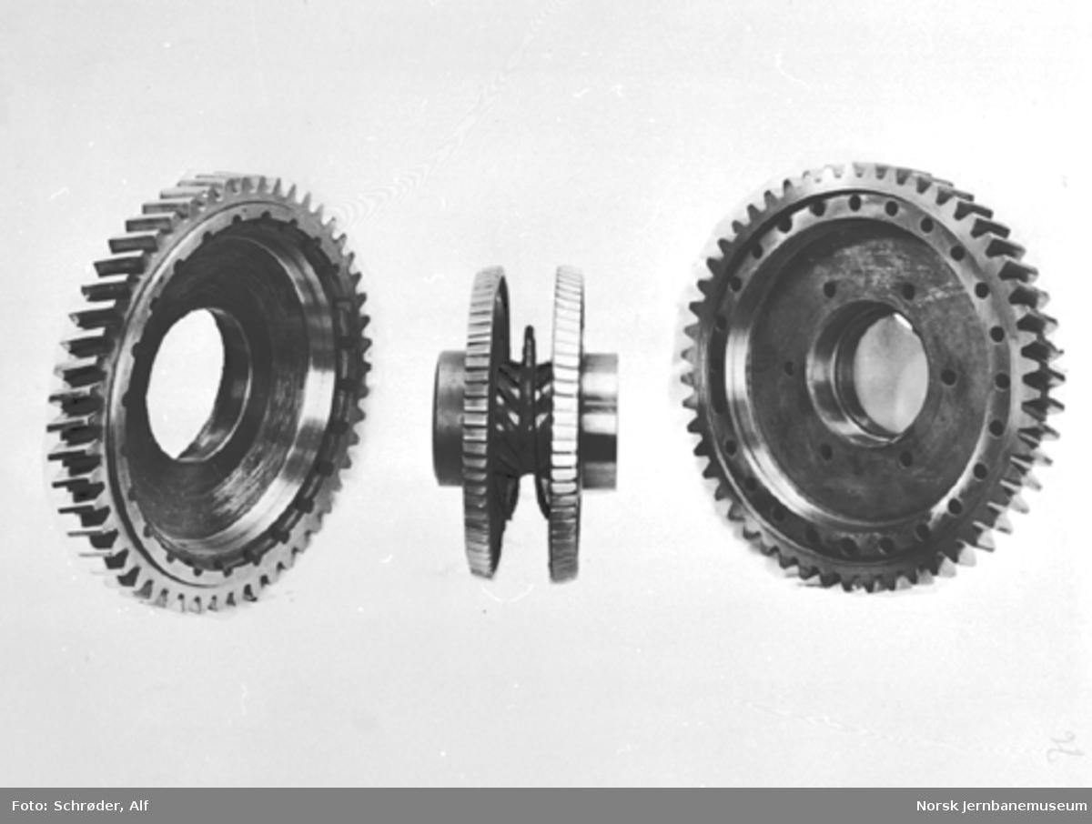 NSBs første dieselmotorvogn, Cmd type 15 nr. 18242, frihjul til NSBs 8-trinns girkasse