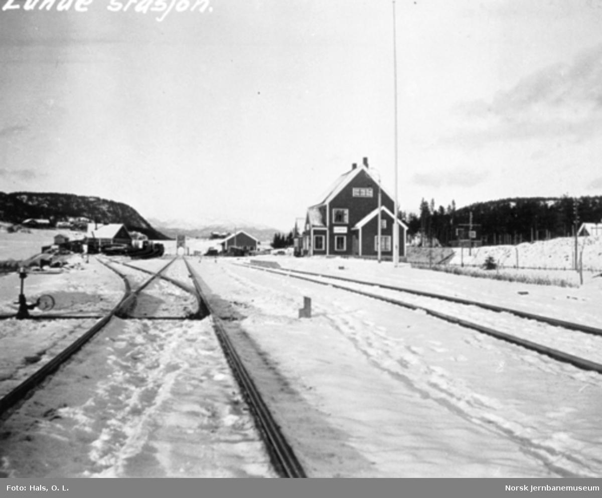 Lunde stasjon