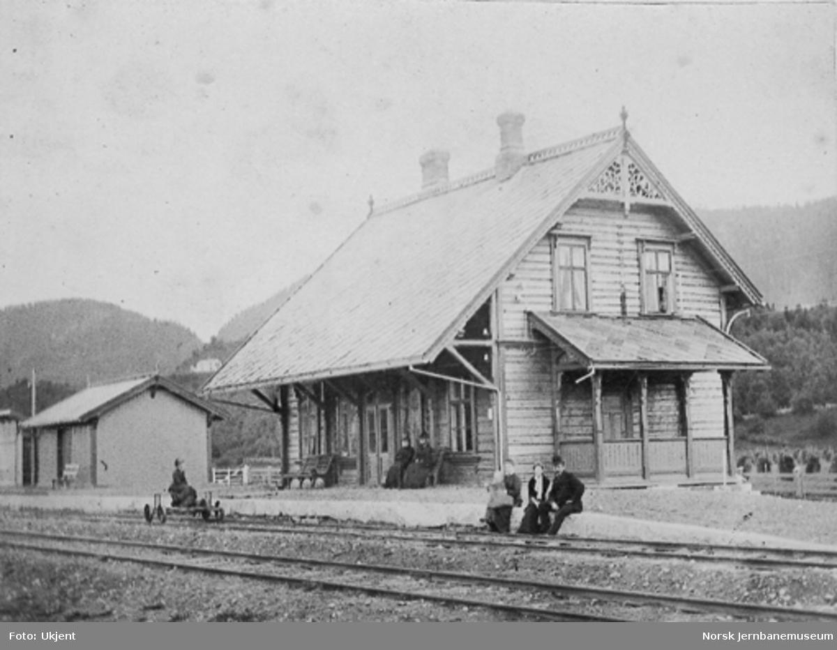 Hegra stasjonsbygning