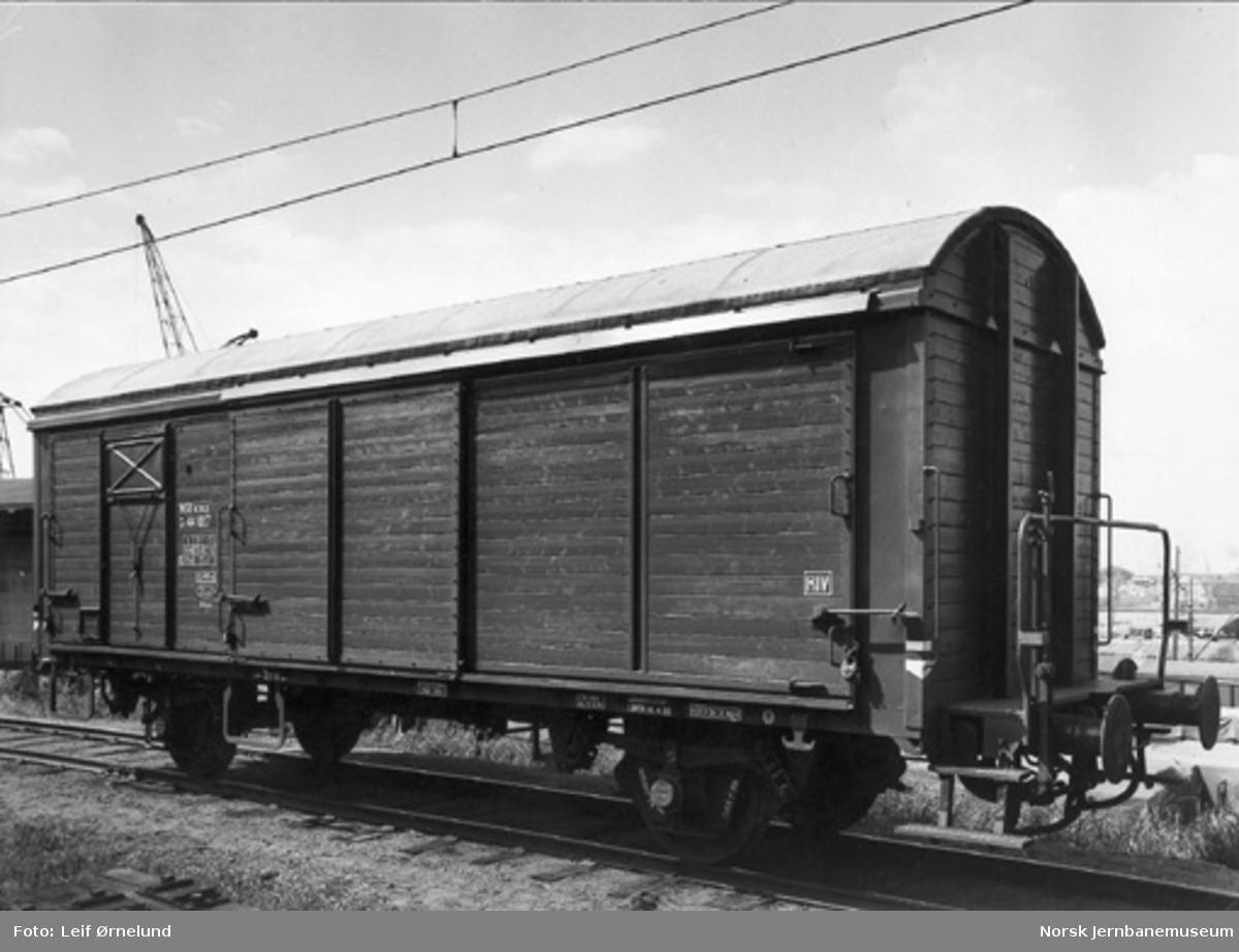 NSB lukket godsvogn litra G5 nr. 44007