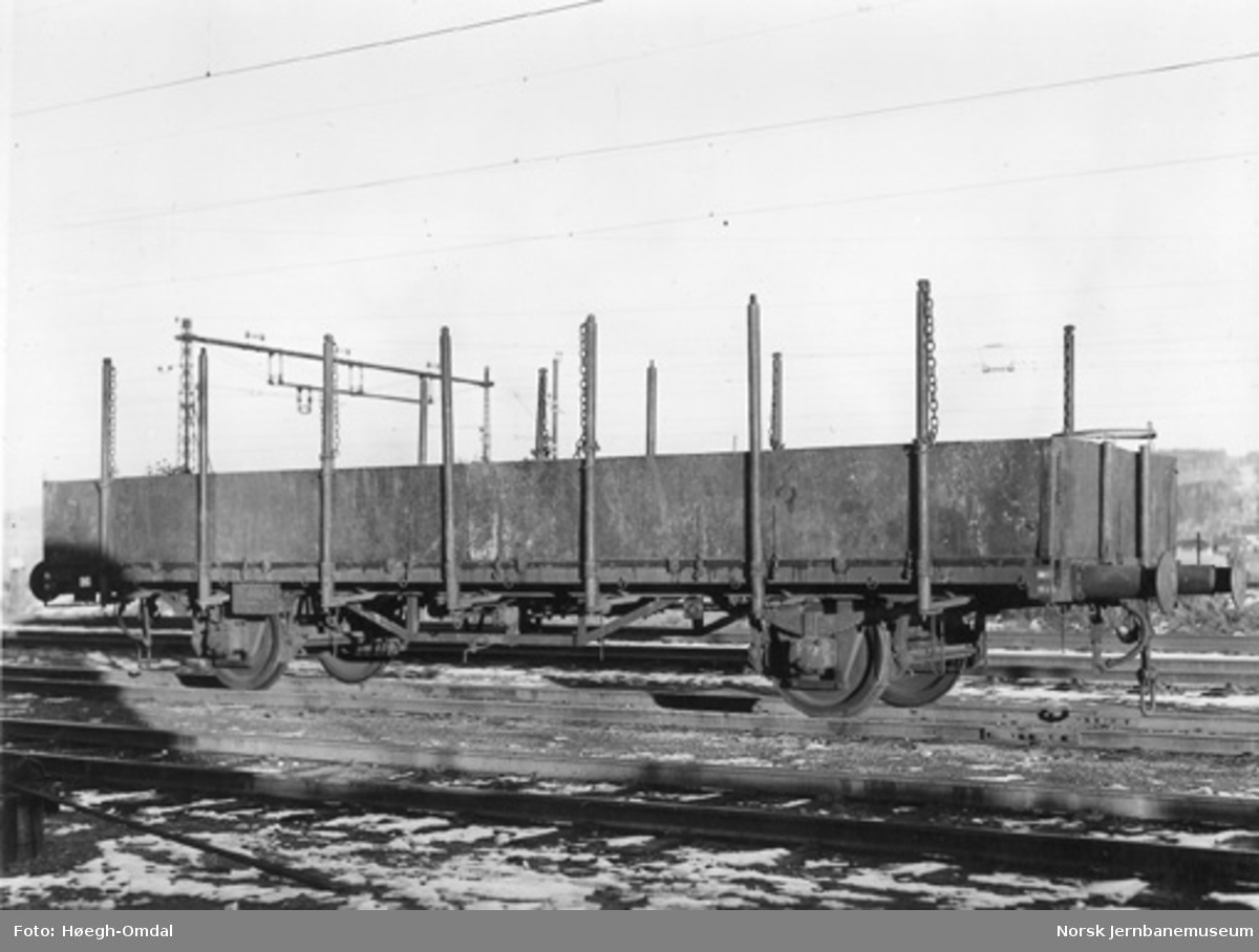 NSB plattformvogn litra Tl4 nr. 60642