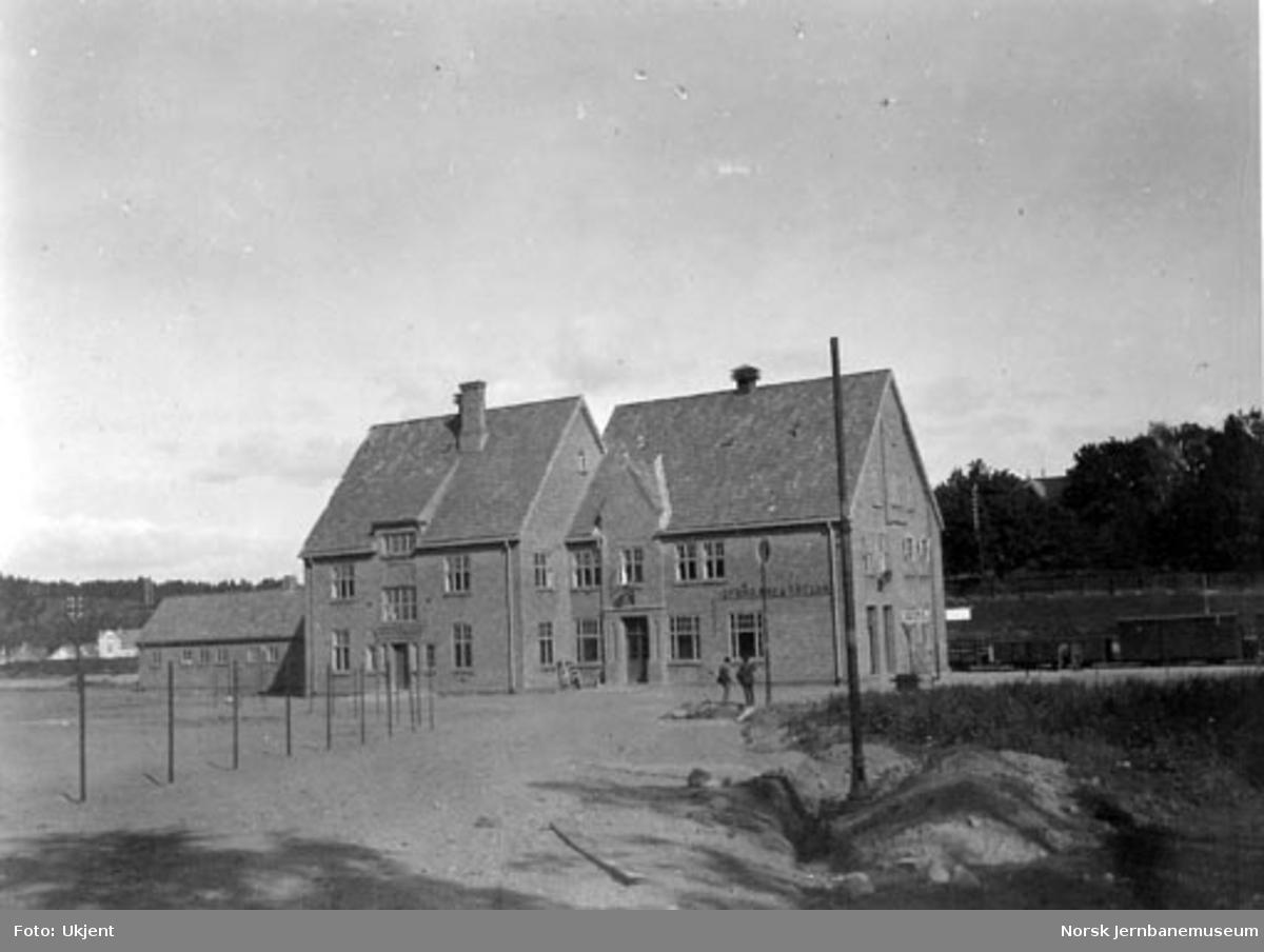 Tønsberg nye stasjonsbygning