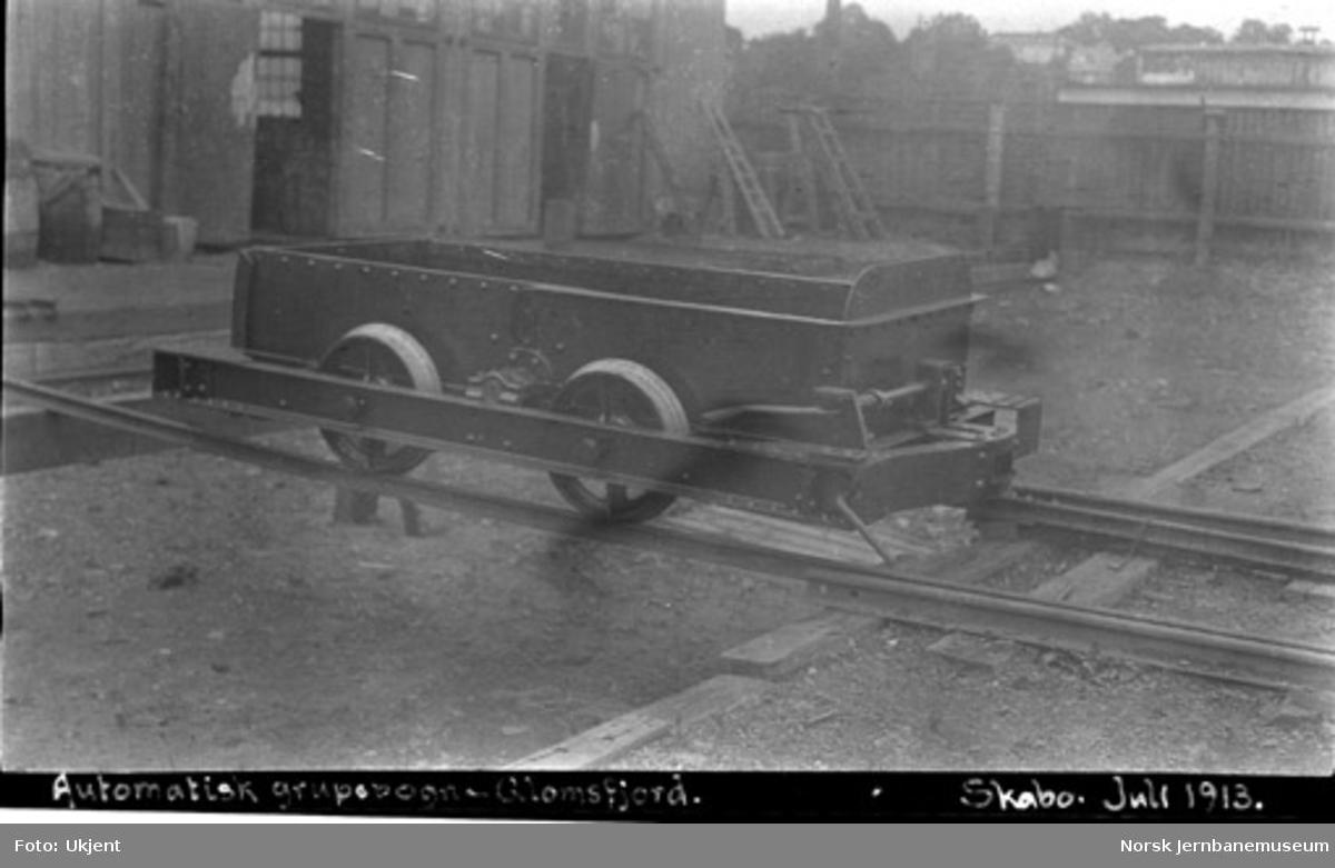 Automatisk gruvevogn til Glomfjord