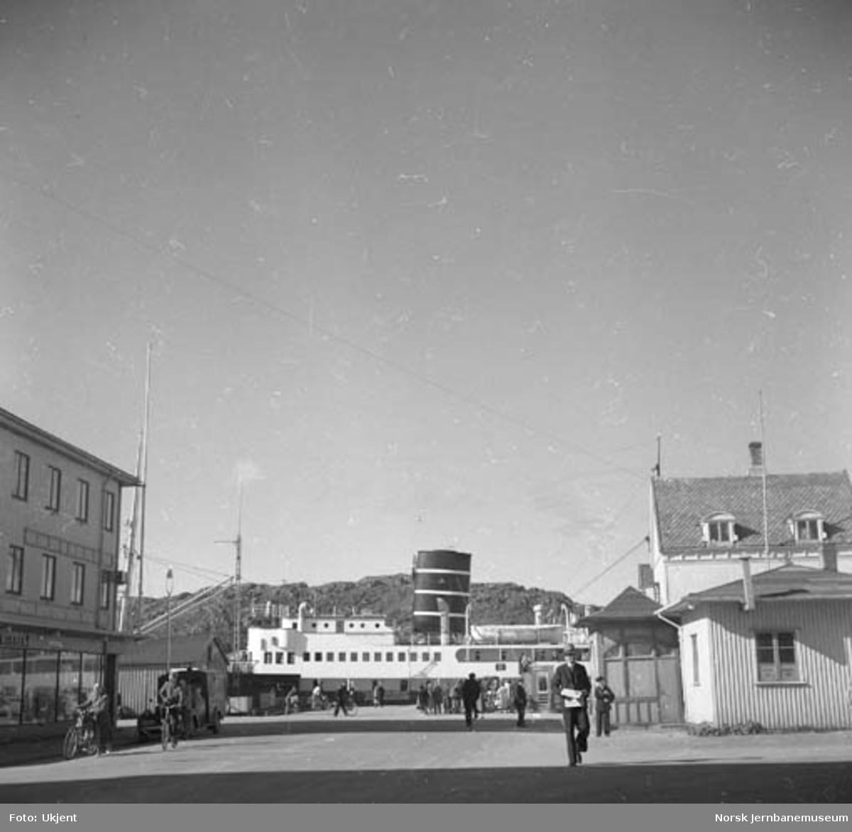 Hurtigruta ved Bodø kai
