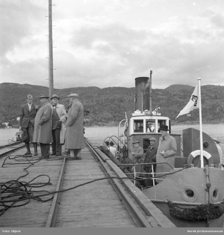 Sulitjelma Grubes kaianlegg på Finneid