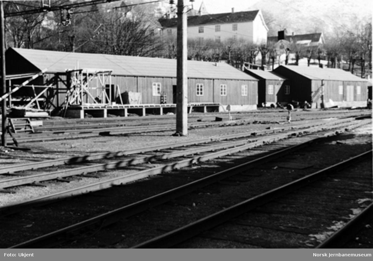 Bergen stasjon : lagerbygninger