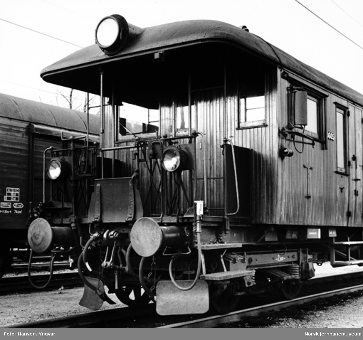 Styrevogn for elektrisk motorvogn, litra BFS 65 nr. 18605