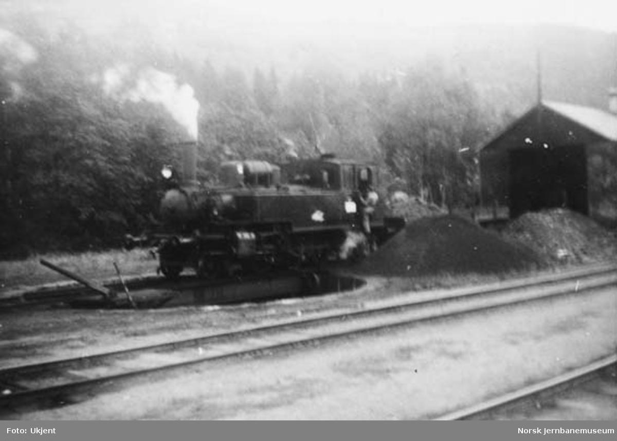 Damplokomotiv type 50a nr. 18
