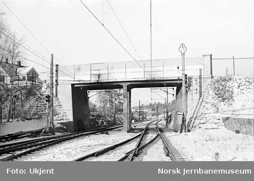 Vegovergang ved Kolbotn stasjon