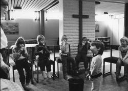 Storuman 1982. Barnverksamhet i Filadefiakyrka. Personal, ba