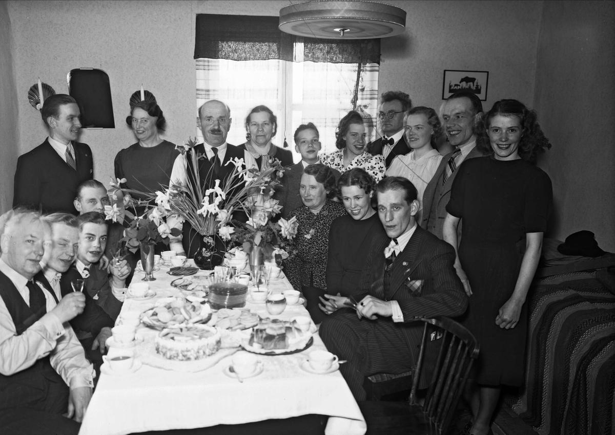 Grupp i hemmiljö, Uppsala 1939
