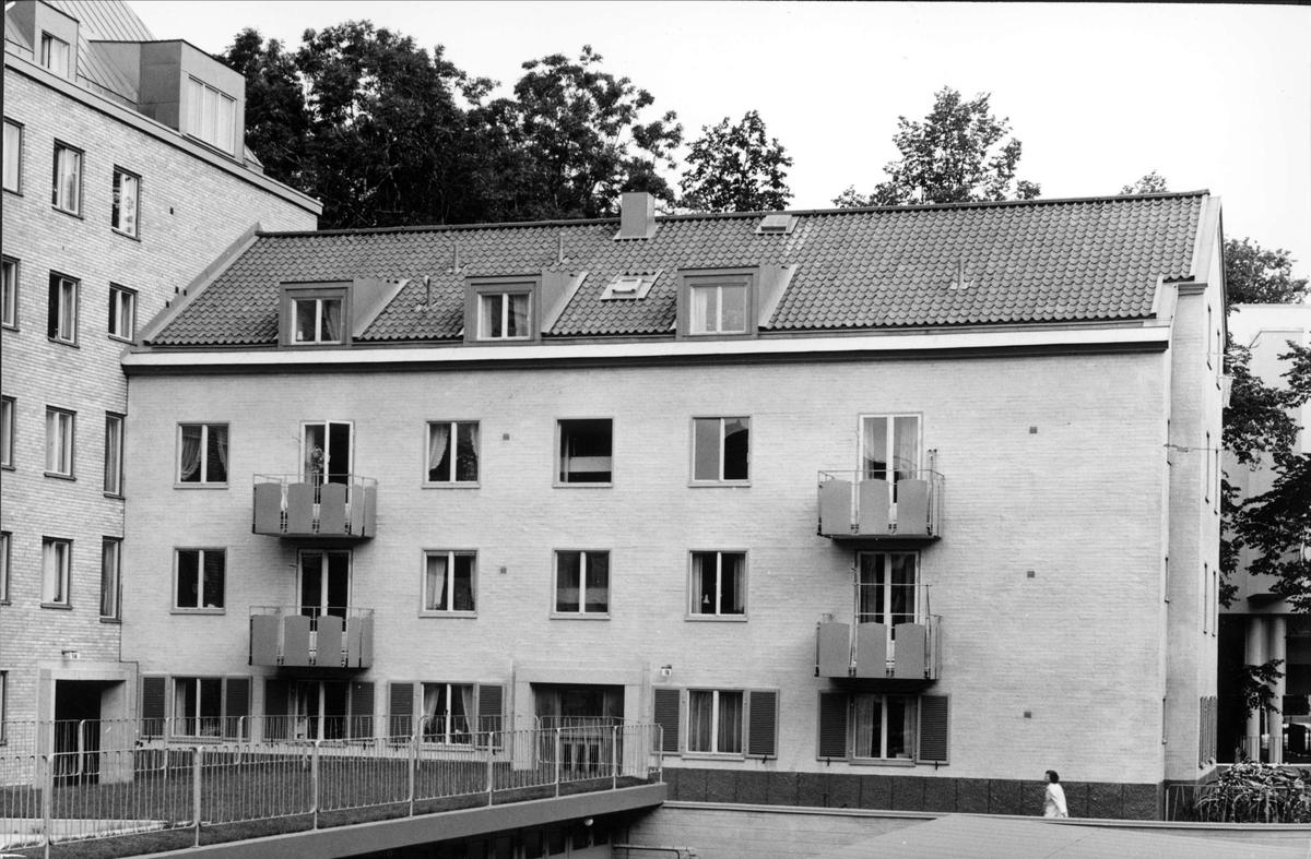 Studentbostäder på Svartmangatan 14 - 16, kvarteret S:t Lars, Uppsala