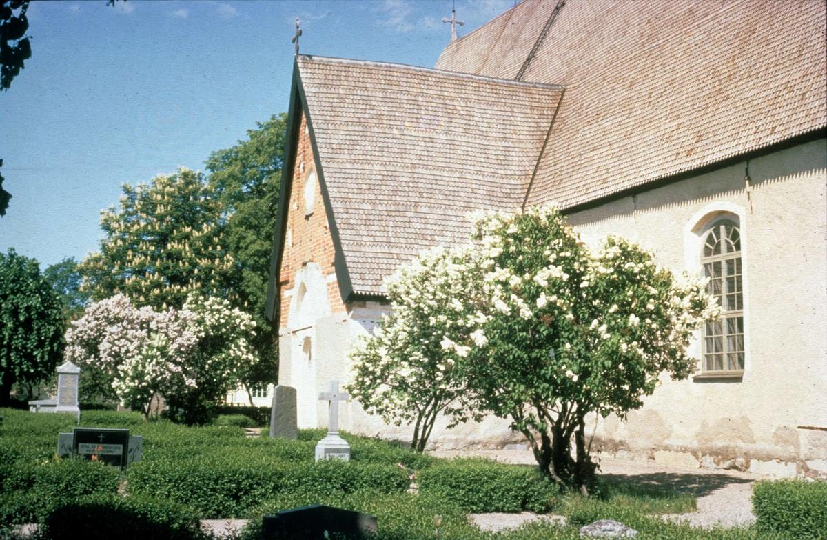 Sparrsätra kyrka, Sparrsätra socken, Uppland 1970