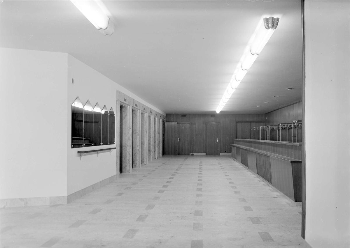 Interiör - Folkets hus, kvarteret Oxen, Dragarbrunn, Uppsala