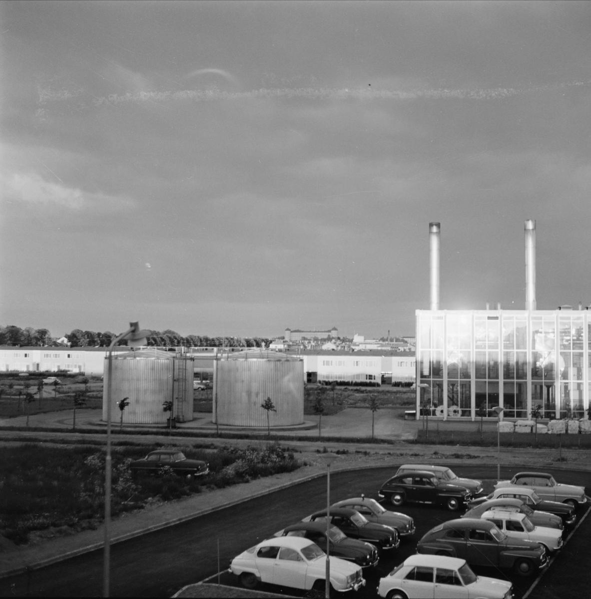 Värmekraftverk, kvarteret Åskan, Gränby, Uppsala