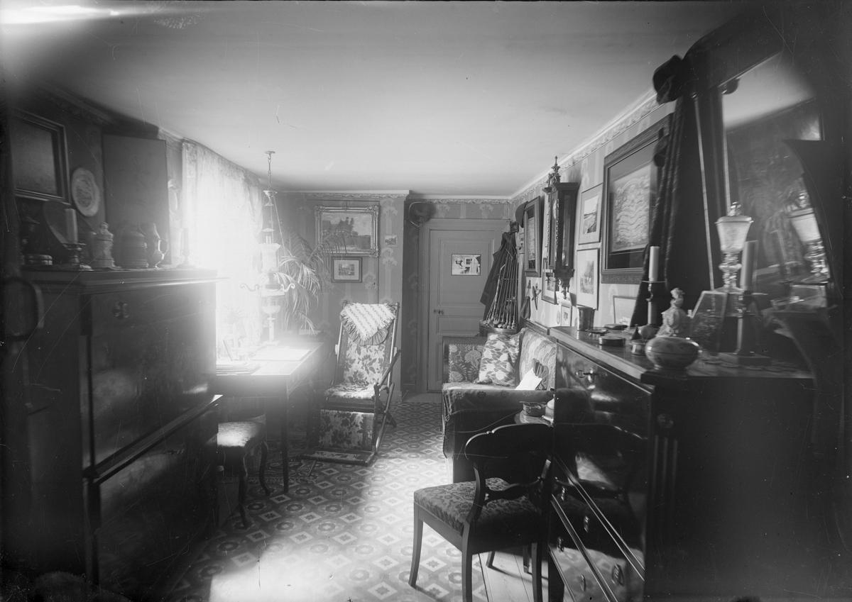 Bokbindarmästaren C J Wensters hem, Vaksalagatan 11, Uppsala 1911