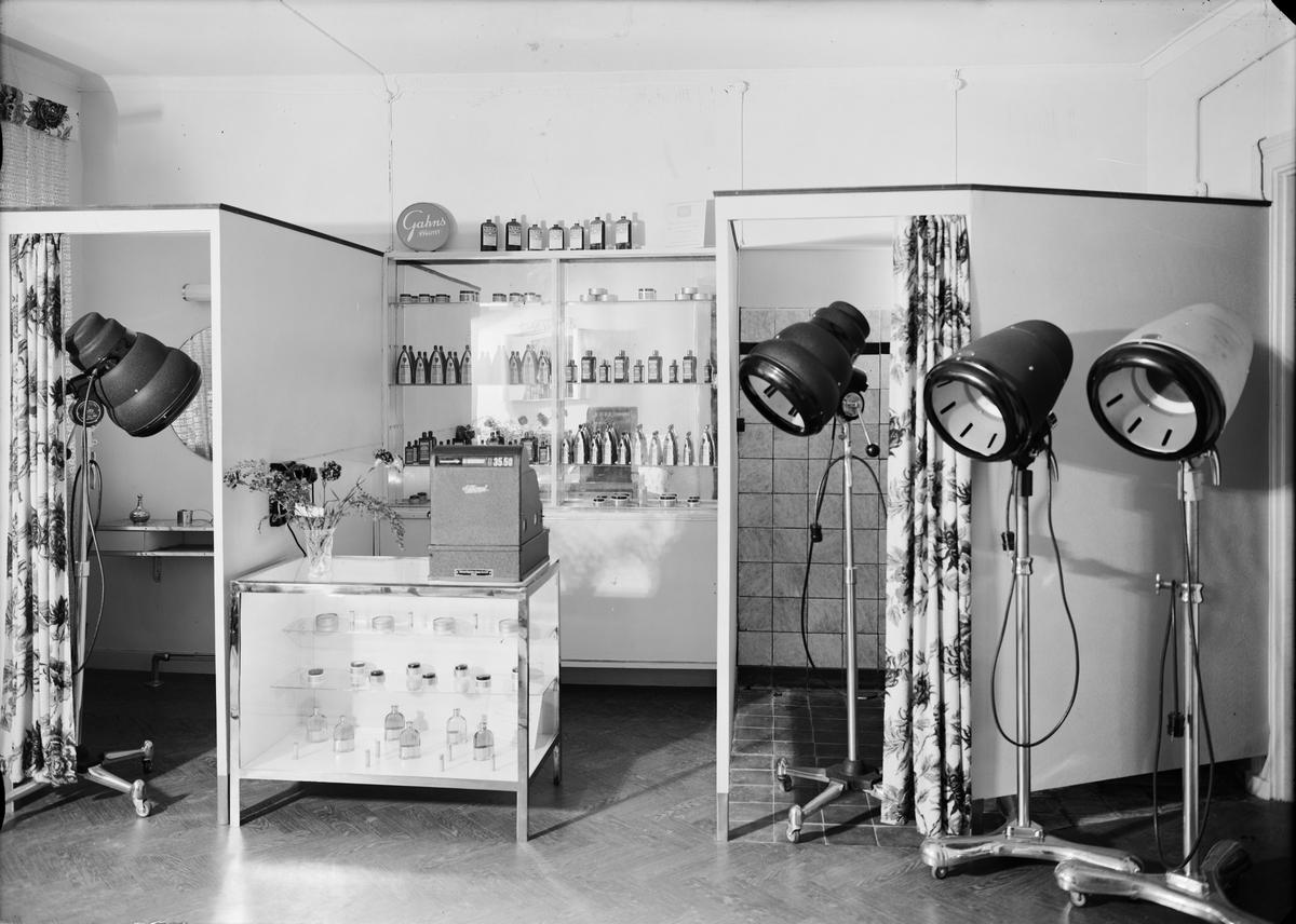 Frisersalong, Uppsala 1947