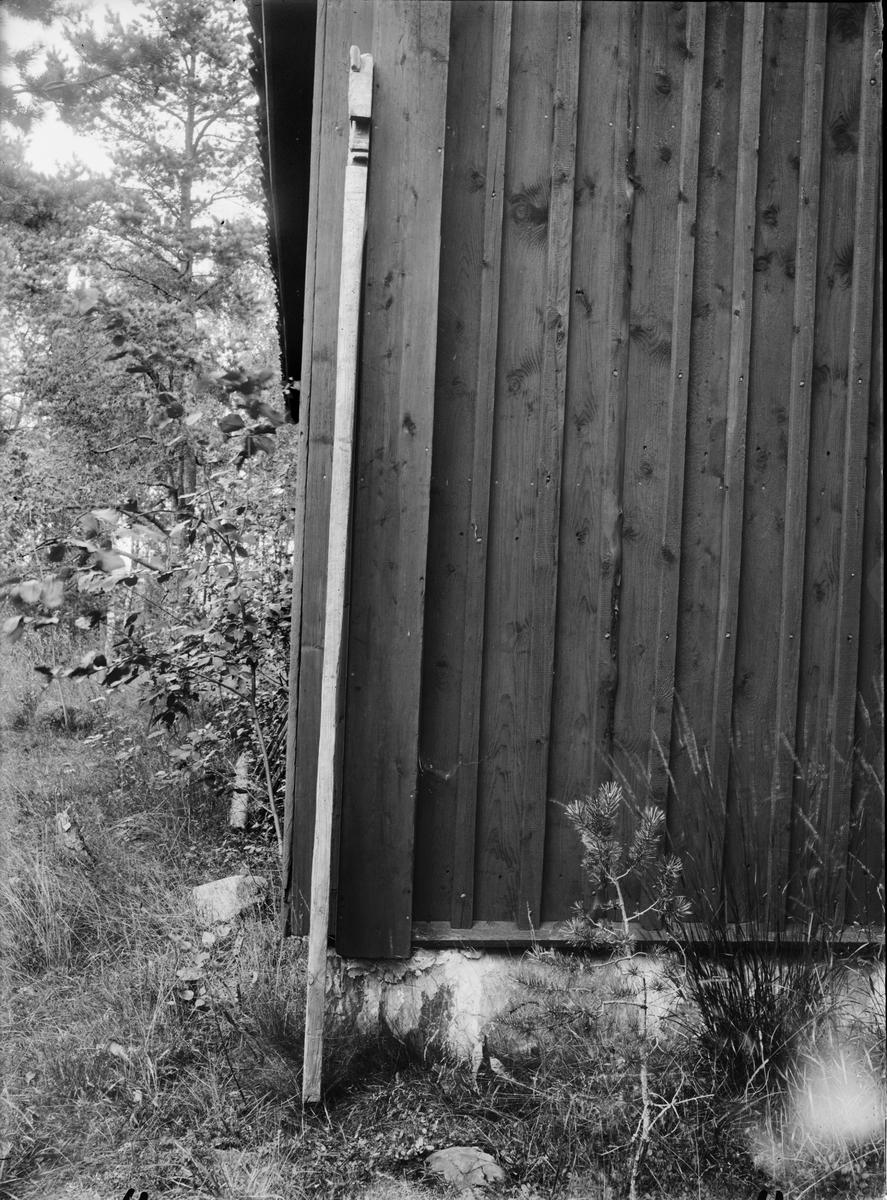 Planka från Långalma, Börstils socken, Uppland augusti 1932