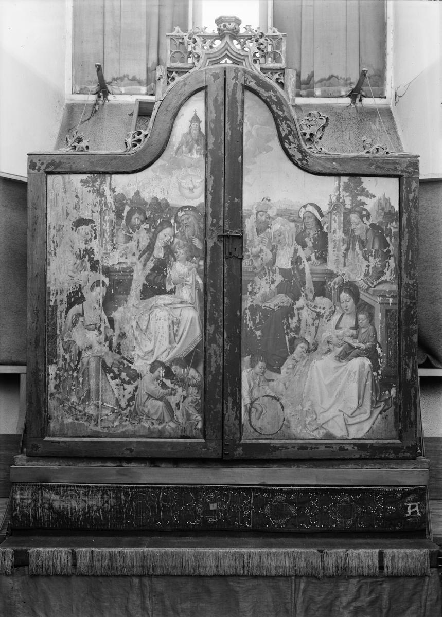 Altarskåp i Uppsala domkyrka, Uppsala 1933