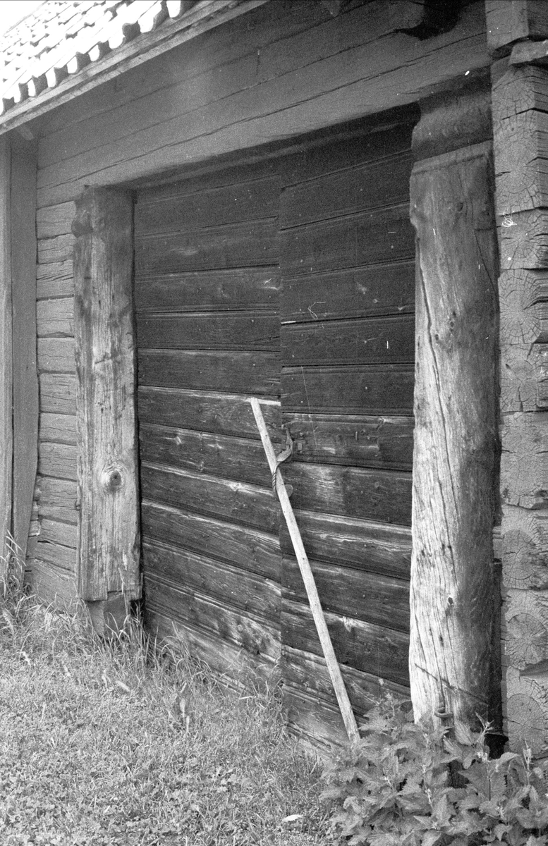 Port till portliderlänga, Sundbromark, Sundbro, Bälinge socken, Uppland 1983